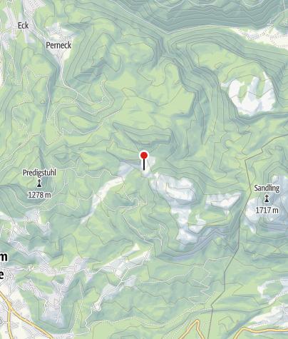 Karte / Hütteneckalm Alpengasthof
