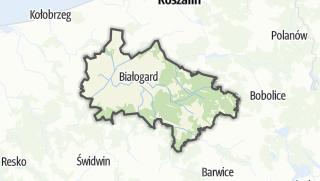 Карта / Bialogardzki