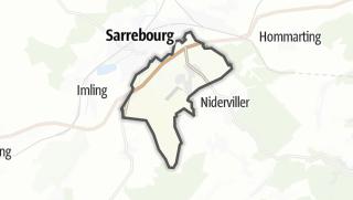 Mapa / Buhl-Lorraine