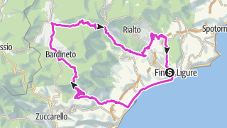 מפה / Finale Calizzano 2. Tag
