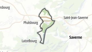 Mapa / Danne-et-Quatre-Vents