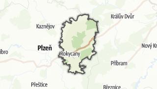 地图 / Rokycany