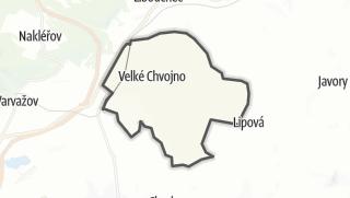 Karte / Velké Chvojno