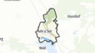 Mapa / Muhr am See