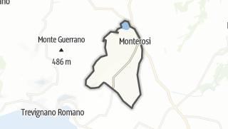 Hartă / Monterosi
