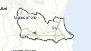 Mapa / Cassano allo Ionio