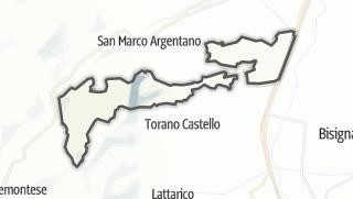 Mapa / Mongrassano