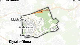 Mapa / Gorla Minore