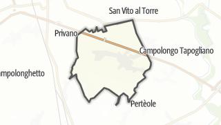 מפה / Aiello del Friuli