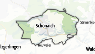 Mapa / Schönaich