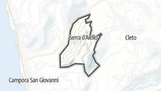 Térkép / Serra d'Aiello