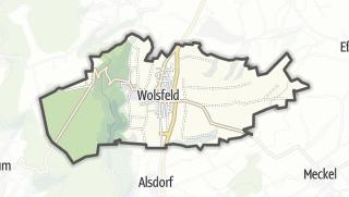 Karte / Wolsfeld