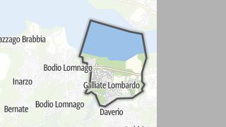 Mapa / Galliate Lombardo