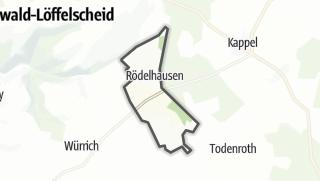 Karte / Rödelhausen