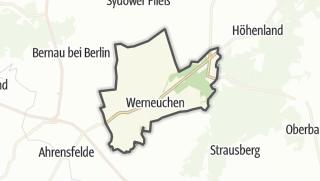 地图 / Werneuchen