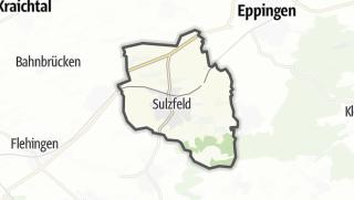 Mapa / Sulzfeld