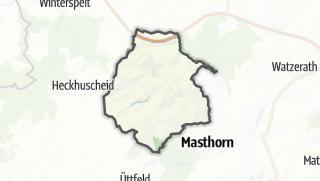 Karte / Habscheid
