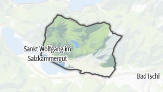 Karte / Sankt Wolfgang im Salzkammergut