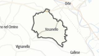 Hartă / Vasanello