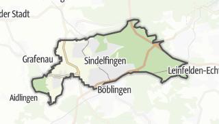 Mapa / Sindelfingen