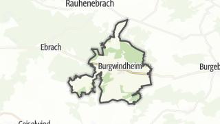 Carte / Burgwindheim