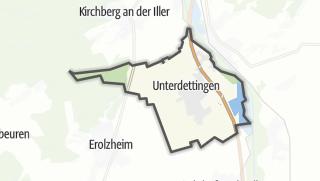 Karte / Dettingen an der Iller