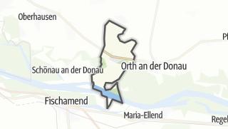 Cartina / Mannsdorf an der Donau