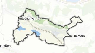 地图 / Hüttwilen