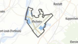 Mapa / Iffezheim