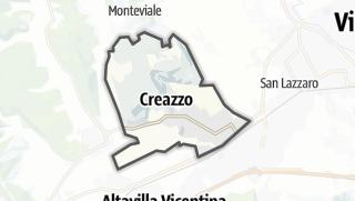 地图 / Creazzo
