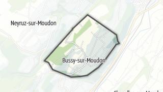 Карта / Bussy-sur-Moudon