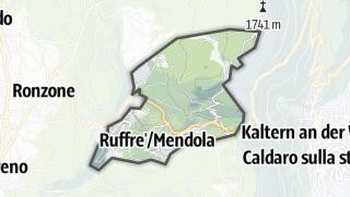 Karte / Ruffrè-Mendola