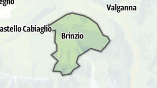 Mapa / Brinzio
