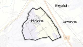 Karte / Biebelsheim