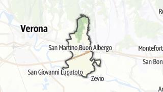 Kartta / San Martino Buon Albergo