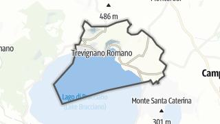 地图 / Trevignano Romano