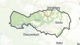 מפה / Sankt Stefan ob Stainz