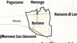 Hartă / Bariano