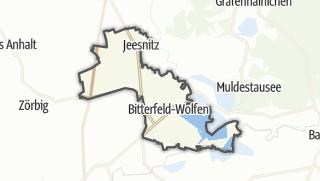 Carte / Bitterfeld-Wolfen