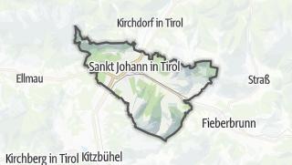 Karte / Sankt Johann in Tirol