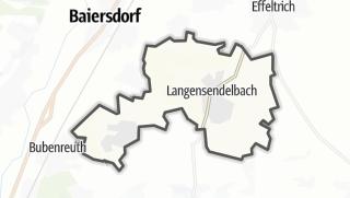 Cartina / Langensendelbach
