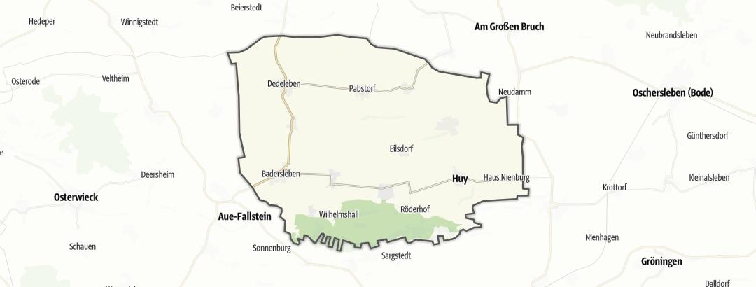 Mapa / Senderismo en Huy