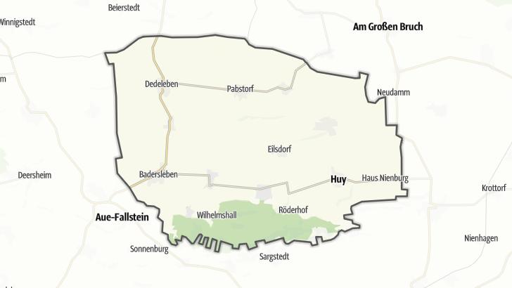 Mapa / Huy