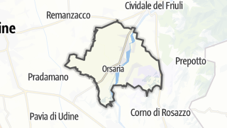 מפה / Premariacco