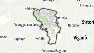 地图 / Cassago Brianza
