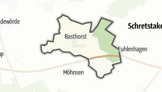 地图 / Basthorst