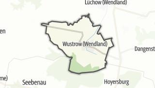 Cartina / Wustrow (Wendland)