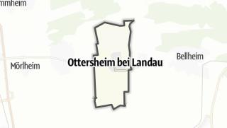 Karte / Ottersheim bei Landau