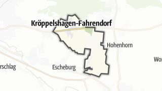 地图 / Kröppelshagen-Fahrendorf