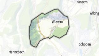 Karte / Wawern